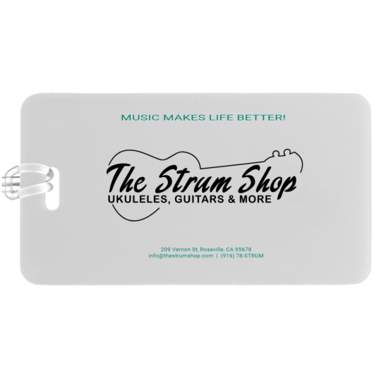 The Strum Shop Case Tag