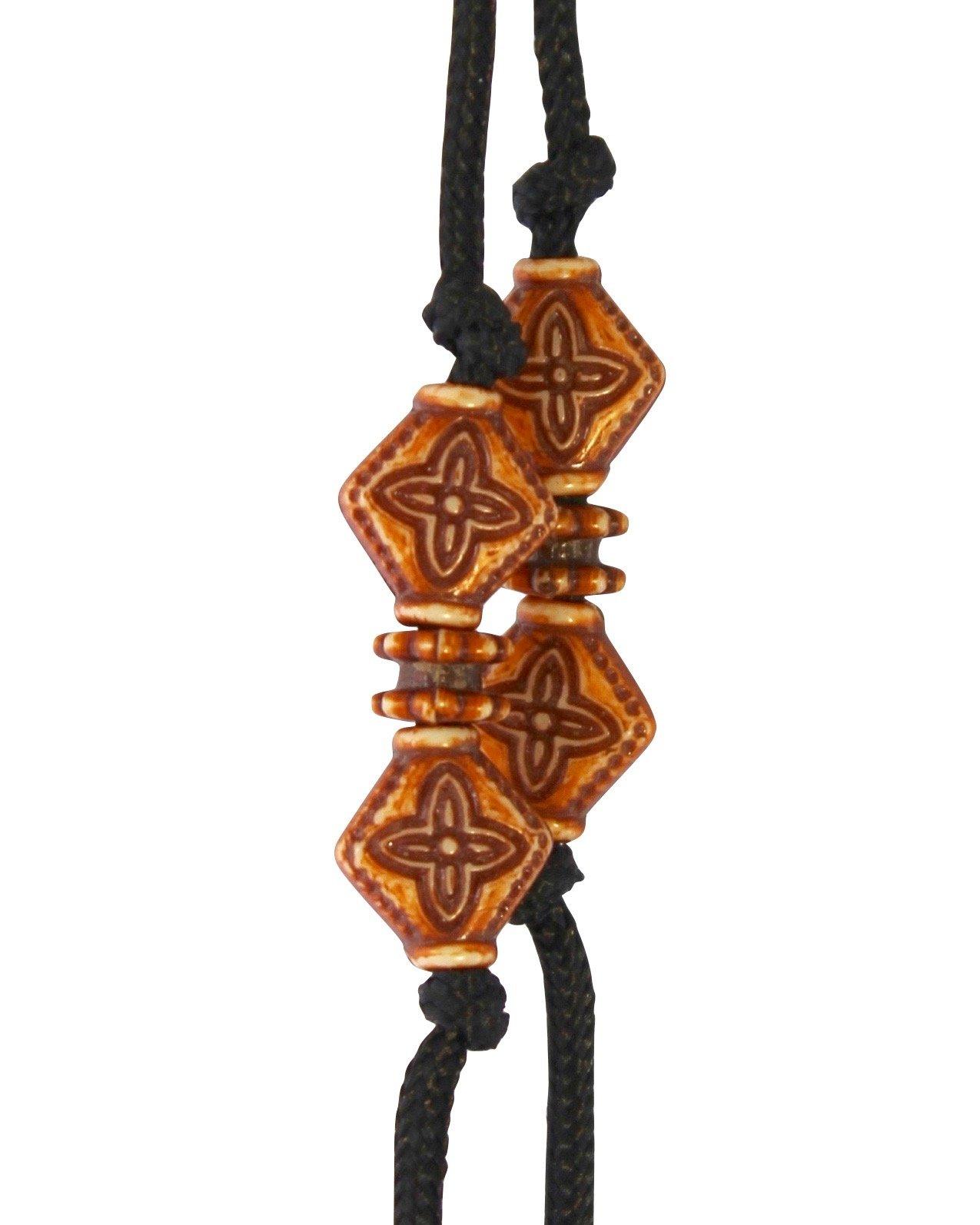 Sherrin's Threads Corded Neck Strap - Brown