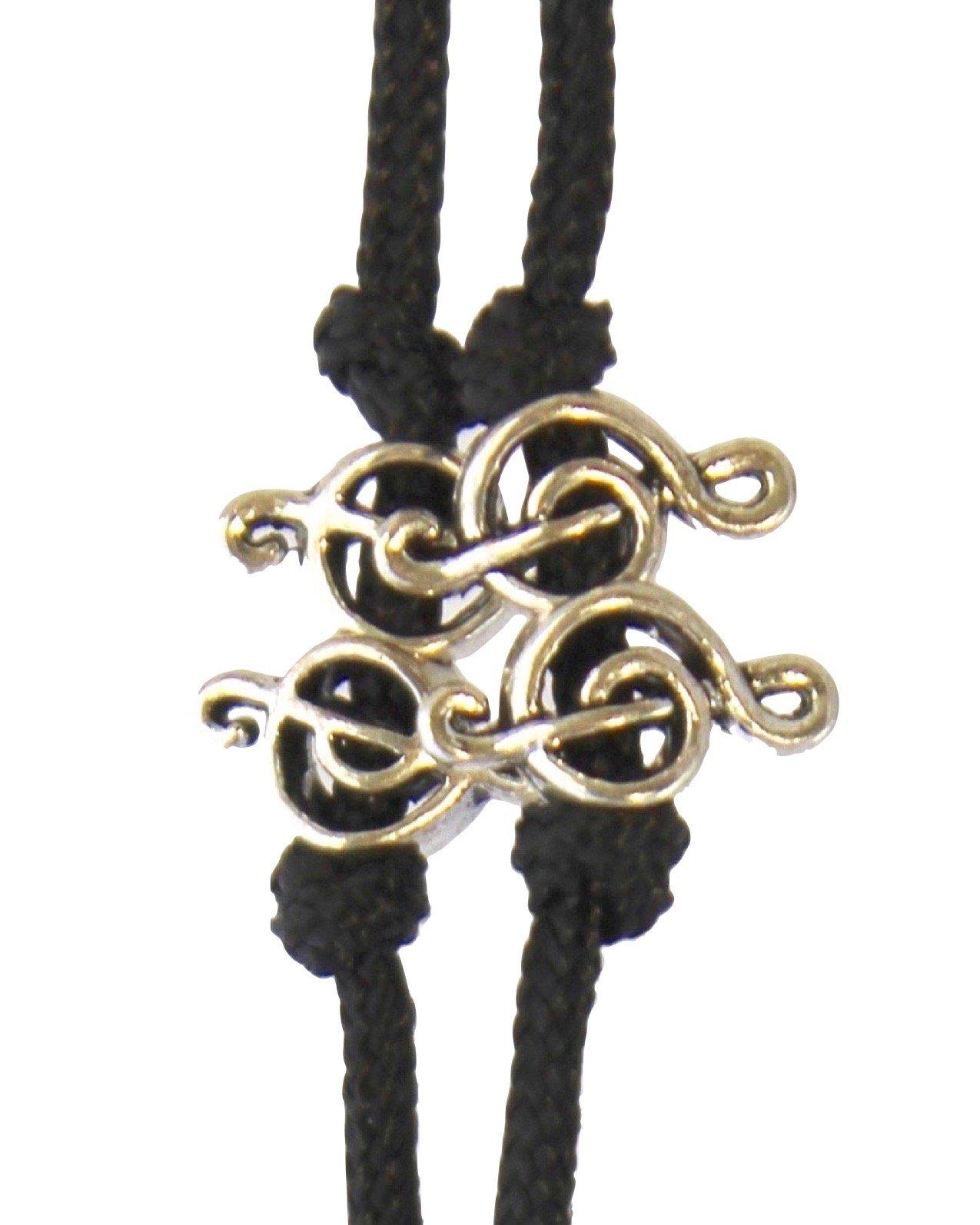 Sherrin's Threads Corded Neck Strap - Treble Clef