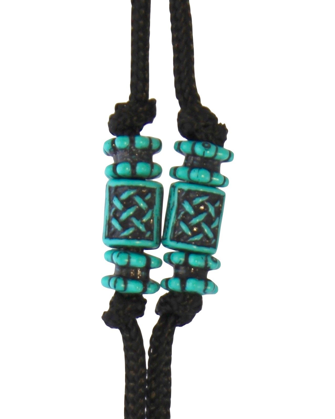 Sherrin's Threads Corded Neck Strap - Turquoise