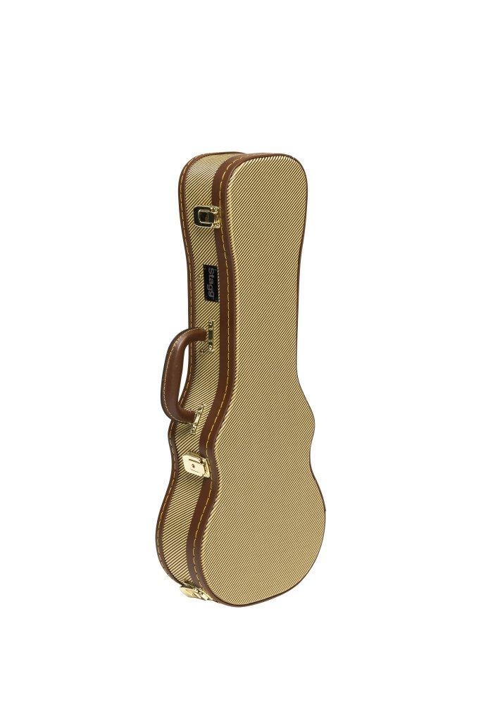 Stagg Gold Tweed Concert Ukulele Case