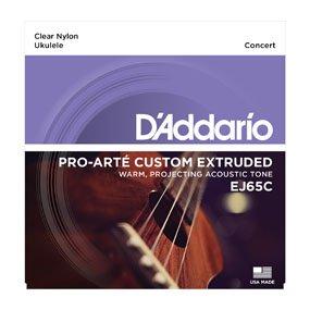 D'Addario EJ65C Custom Extruded Concert Ukulele Strings