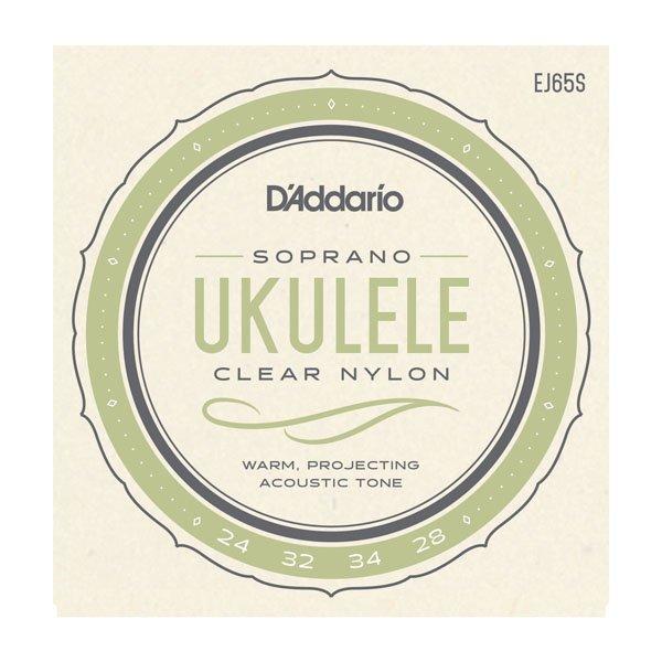 D'Addario EJ65S Pro-Arte' Custom Extruded Ukulele Strings - Soprano