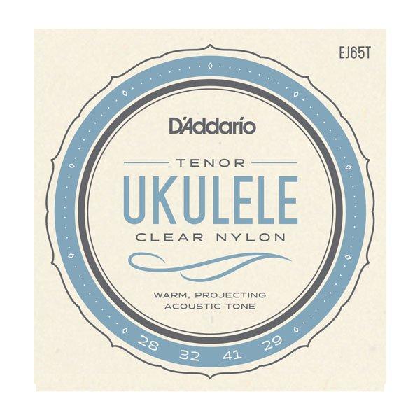 D'Addario EJ65T Custom Extruded Tenor Ukulele Strings