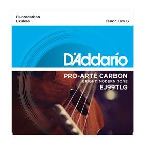 D'Addario EJ99TLG Pro-Arte' Fluorocarbon Tenor Ukulele Strings - Low G
