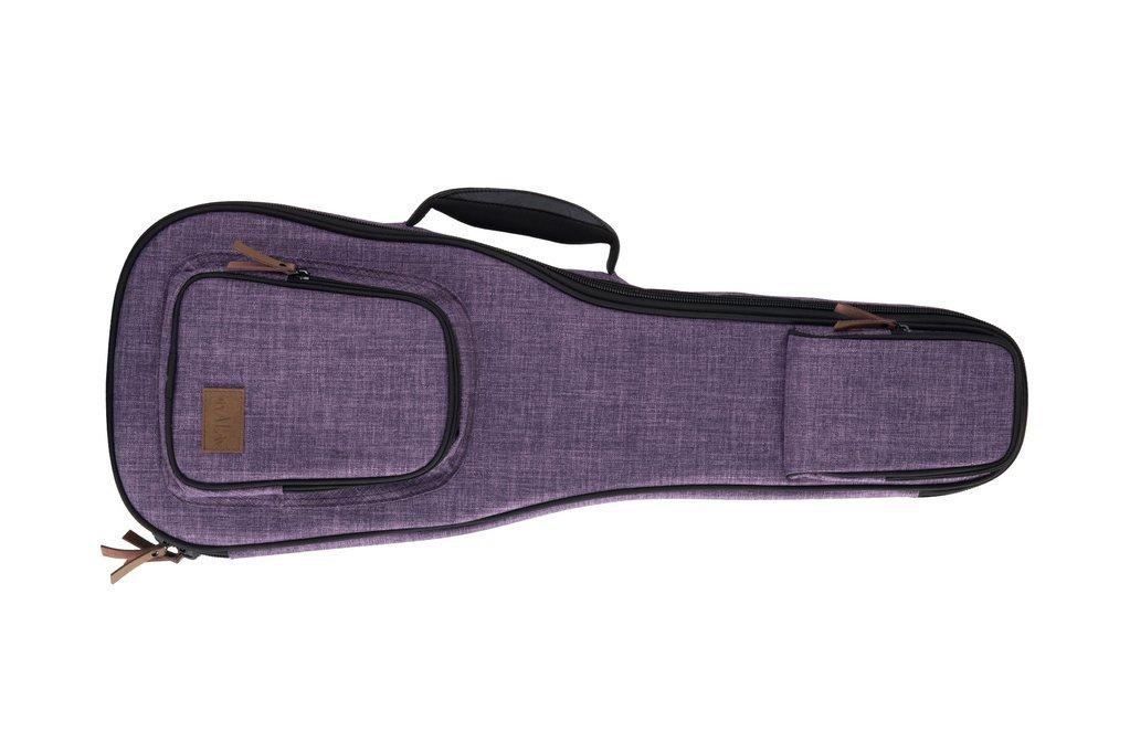 Kala Sonoma Coast Ukulele Case - Soprano/Vista Point Purple