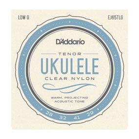 D'Addario EJ65TLG Pro-Arte' Custom Extruded Ukulele Strings - Tenor (Low G)