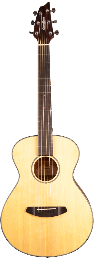 Breedlove Discovery Companion Acoustic Guitar - Sitka - Mahogany