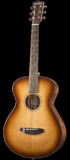 Breedlove Discovery Concertina Acoustic Guitar - Sunburst Sitka-Mahogany