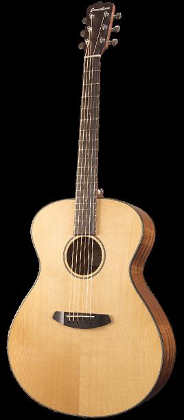 Breedlove Discovery Concerto Acoustic Guitar - Sitka-Mahogany