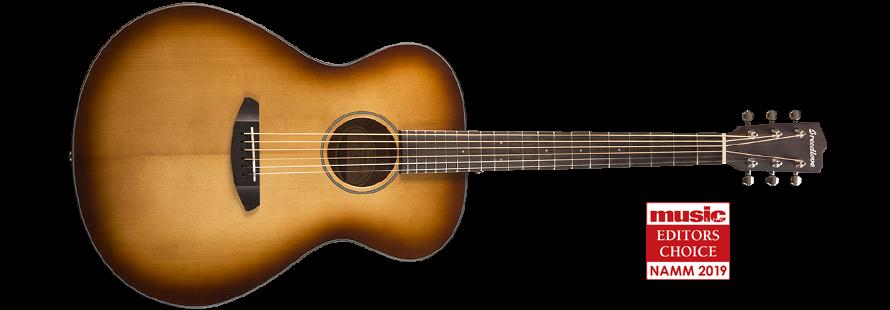 Breedlove Discovery Concerto Acoustic Guitar - Sunburst Sitka-Mahogany