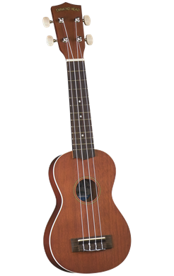 Diamond Head DU-250 Soprano Ukulele w/Bag - Satin Mahogany
