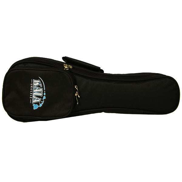Kala DUB-SH Deluxe Soprano Ukulele Gig Bag - Hawaiian Islands