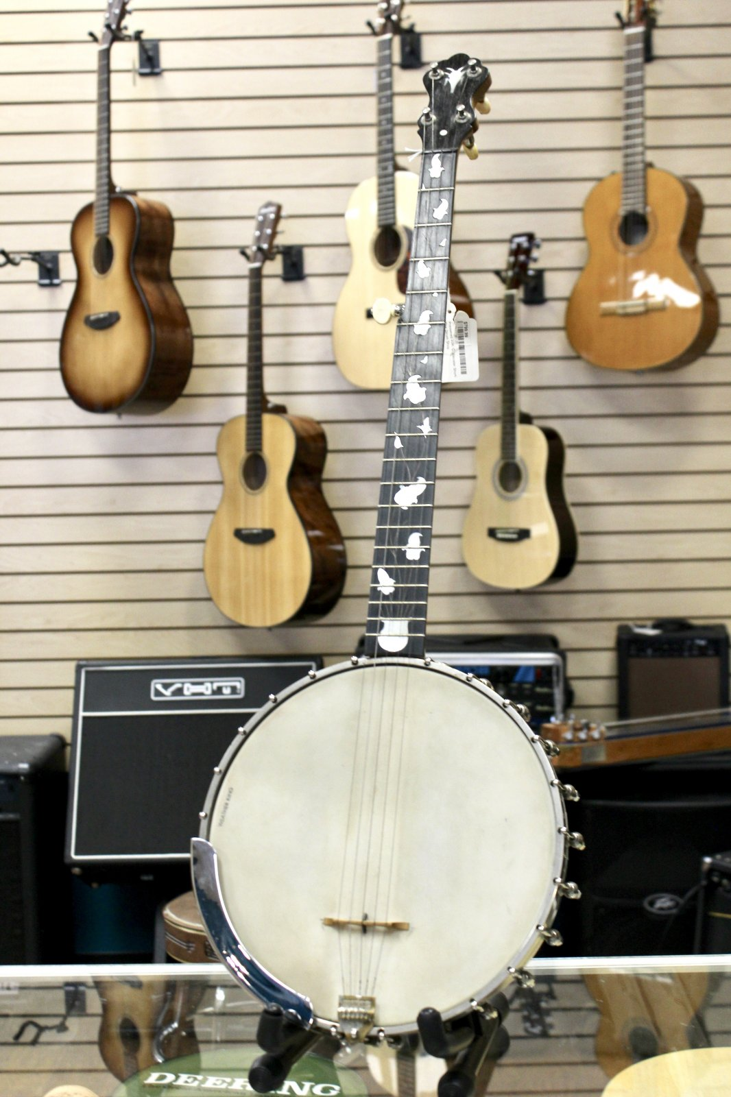 Preowned Wm. C. Webster Short-Scale Banjo