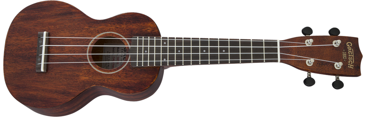 Gretsch Roots Collection G9100 Soprano Standard Ukulele w/Bag