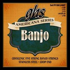 ghs Banjo Strings Loop End set