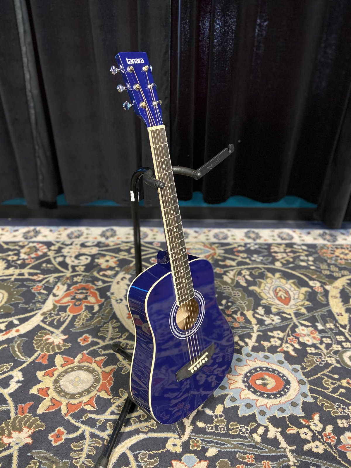 Tanara 1/2-Scale Acoustic Guitar - Dark Blue