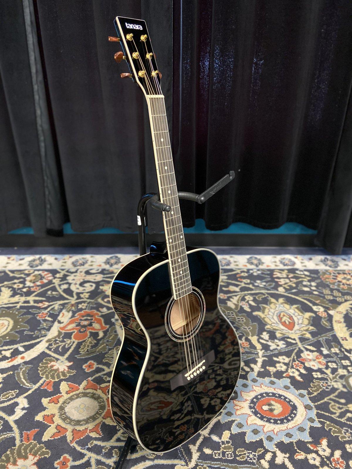 Tanara 1/2-Scale Acoustic Guitar - Black