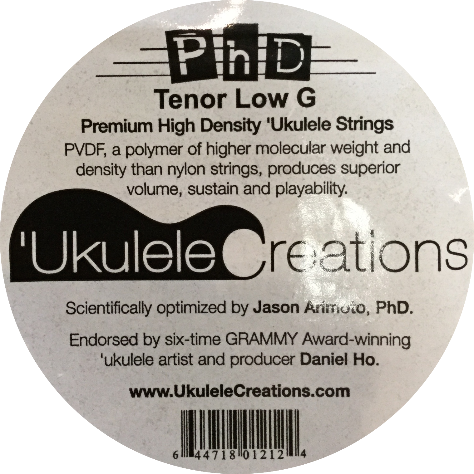 PhD Tenor Low G Ukulele Strings