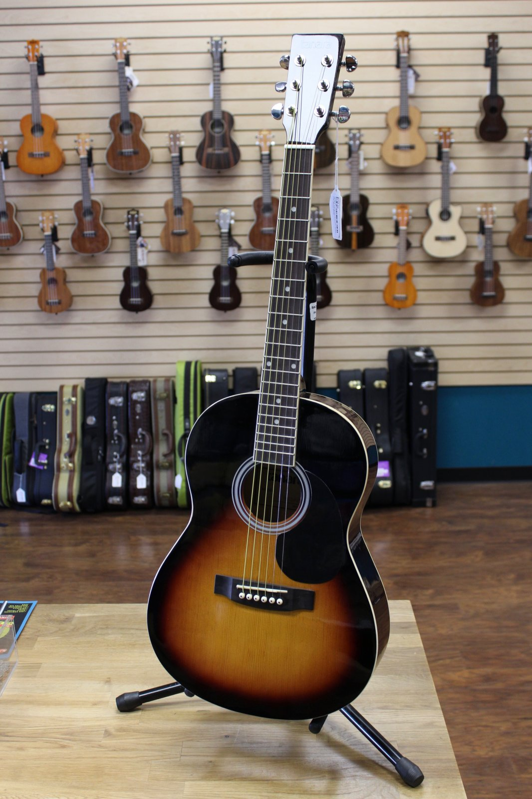 Tanara TD34VS 3/4-Scale Acoustic Guitar - Vintage Sunburst