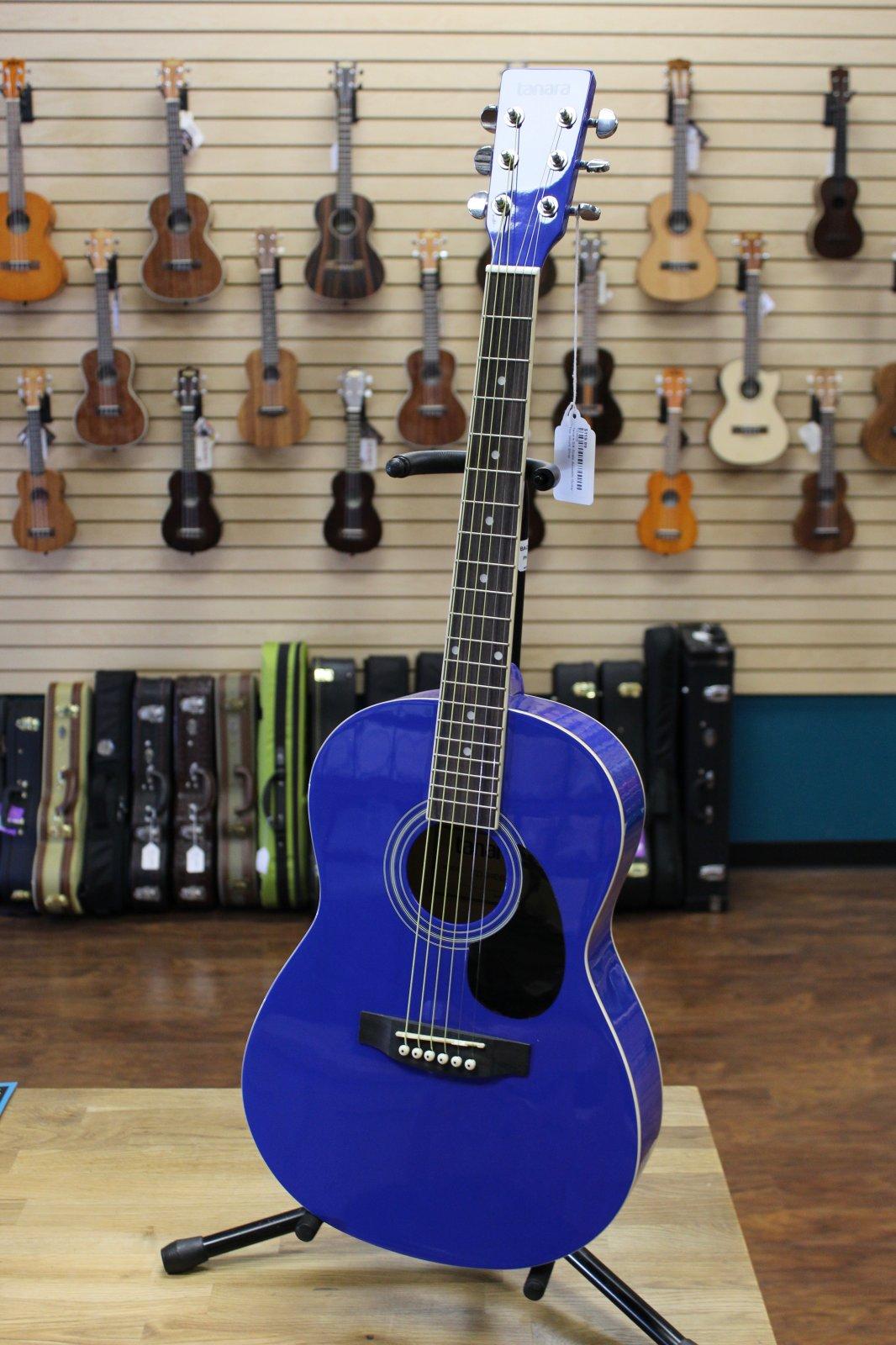 Tanara TD34DB 3/4-Scale Acoustic Guitar - Dark Blue