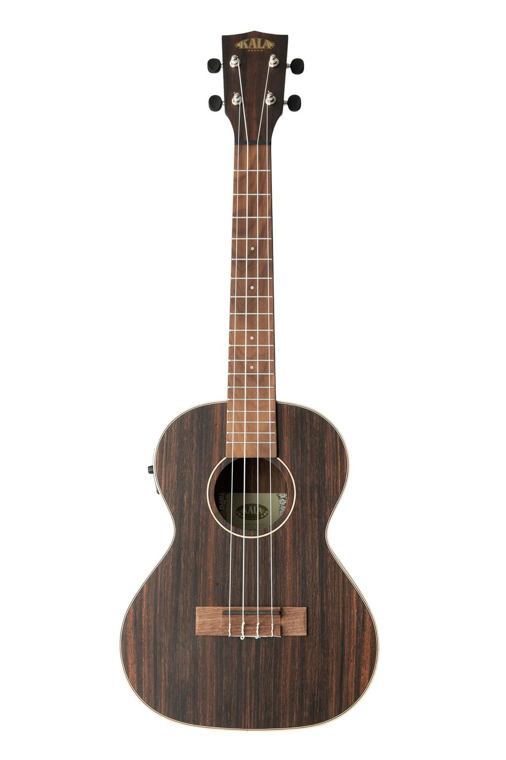 Kala Striped Ebony Tenor Ukulele w/EQ
