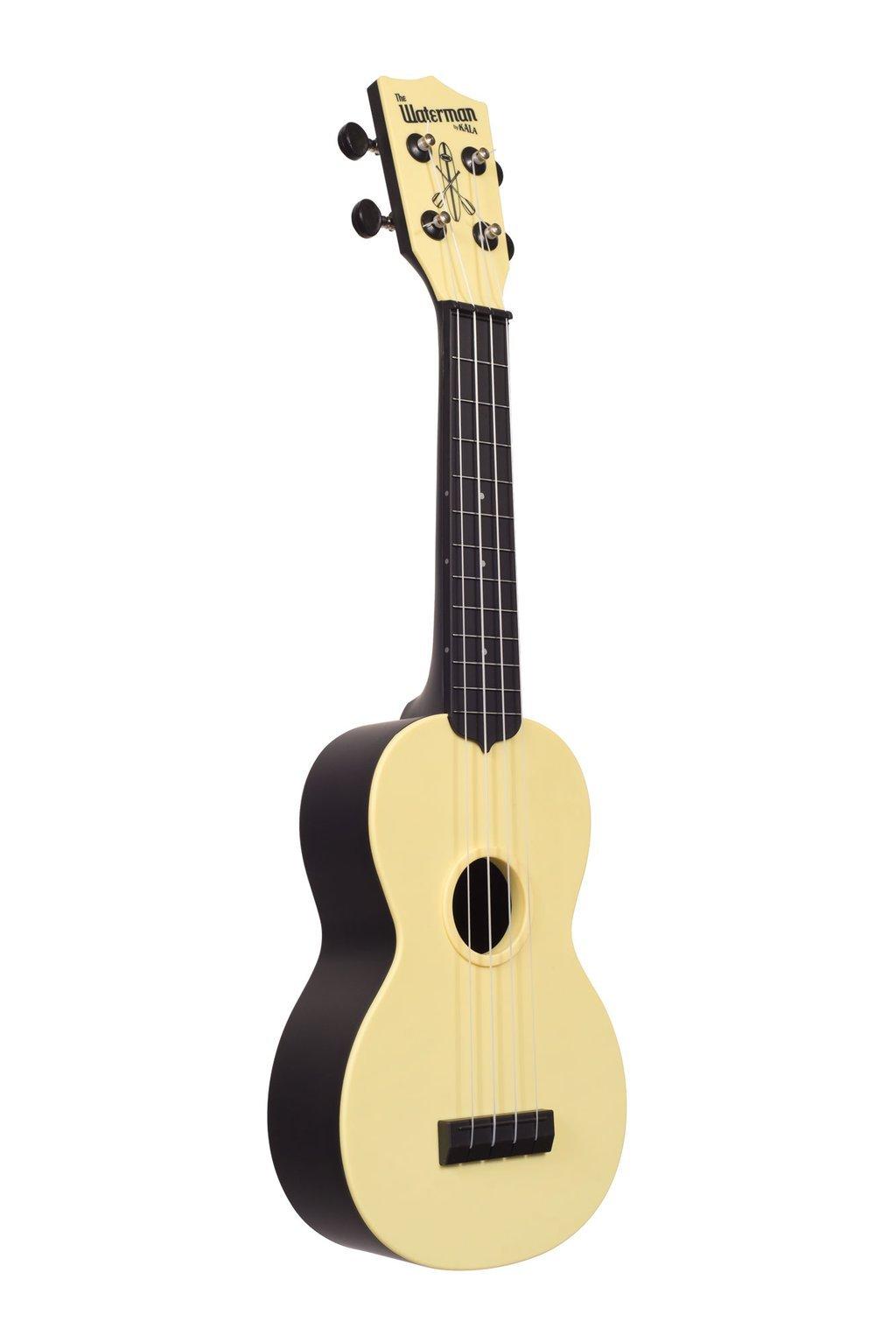 Kala Waterman Soprano Ukulele - Matte Pale Yellow