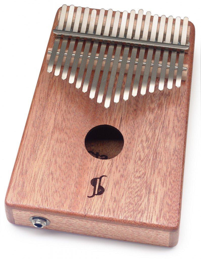 Mahogany 17-Key Kalimba w/Pickup