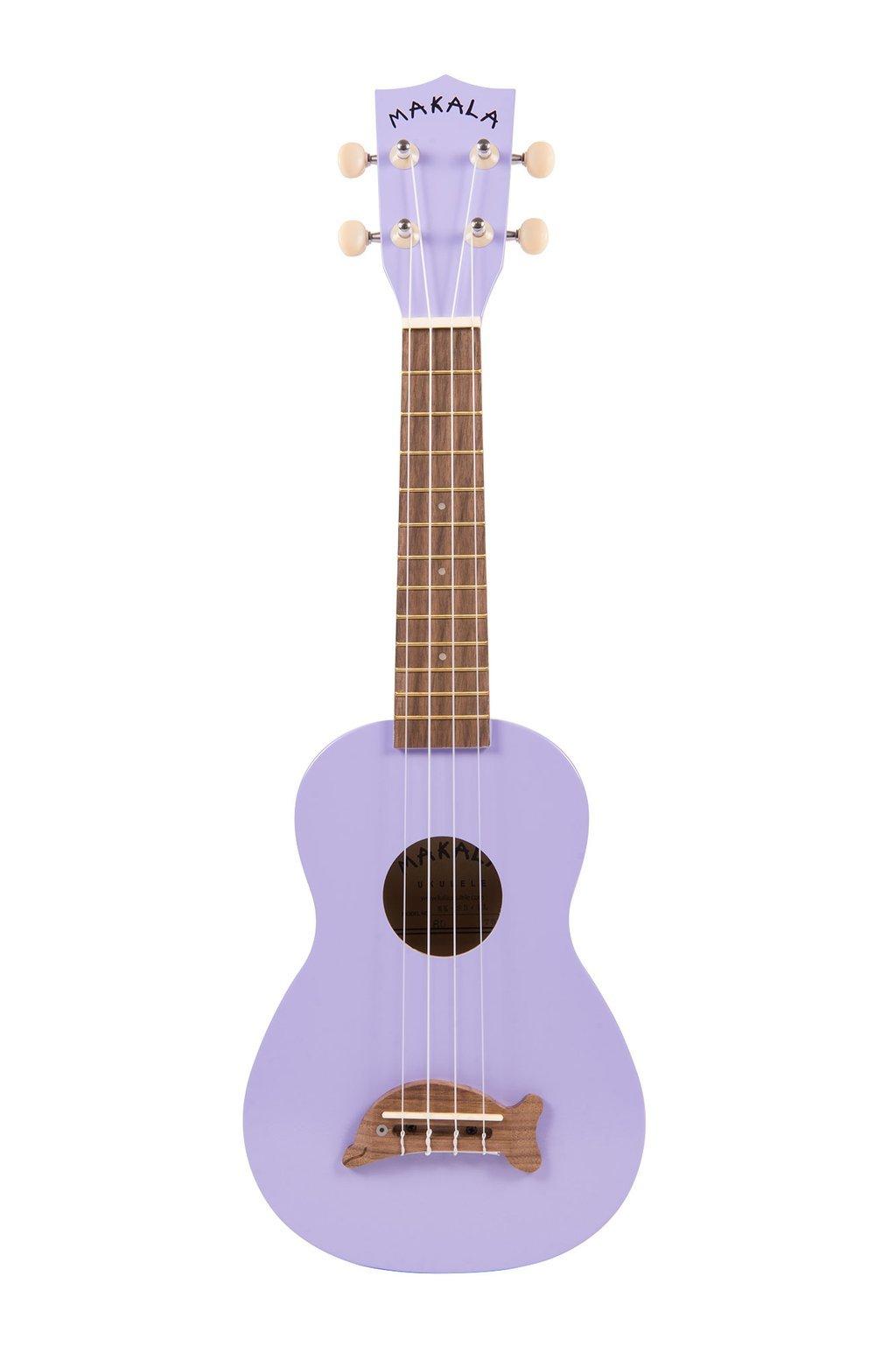 Makala Dolphin Soprano Ukulele - Purple