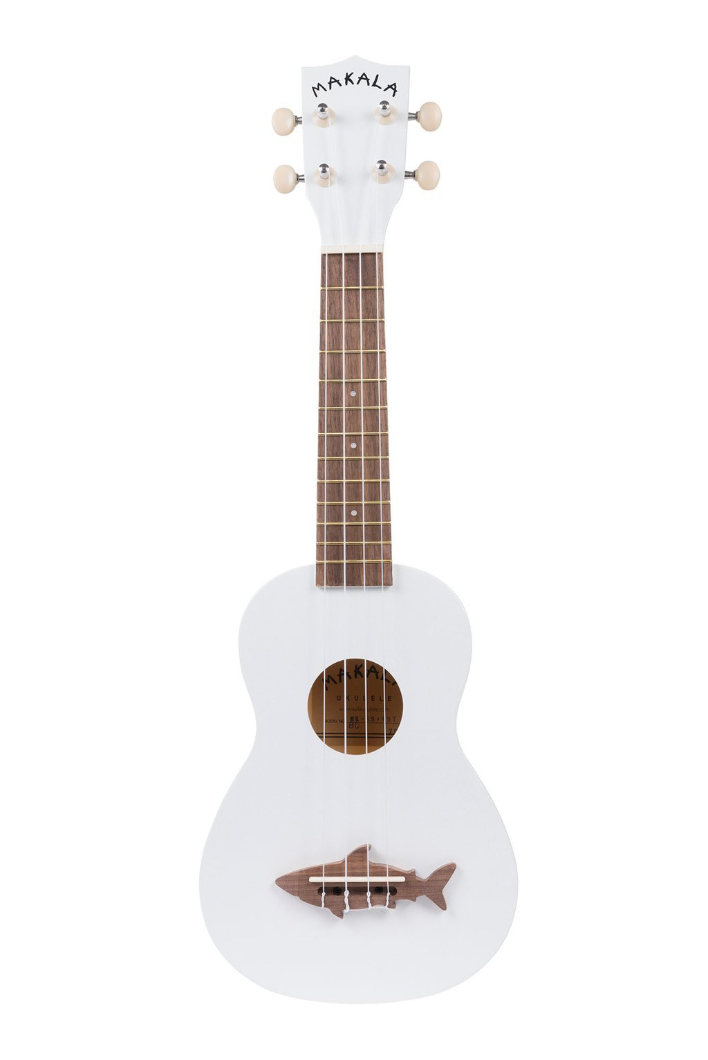 Makala Shark Soprano Ukulele - Great White