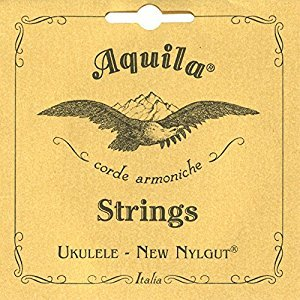 Aquila Nylgut Ukulele Strings - Tenor GCEA (Wound Low G)