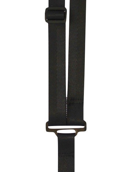 Sherrin's Threads 1 Poly Classical Neck Strap - Black