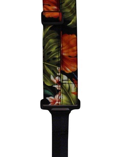 ST 1 Hawaiian Print Classical Neck Strap - Bird of Paradise