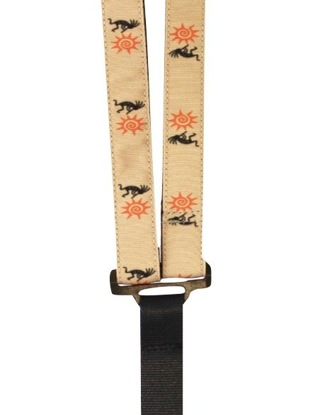 Sherrin's Threads 1 Premium Print Classical Neck Strap - Kokopelli