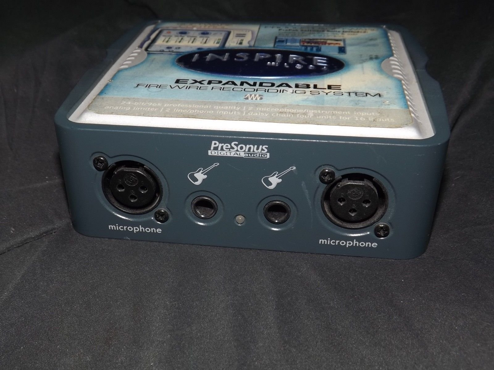 Preowned Inspire 1394 Expandable Firewire Recording System with Power Supply