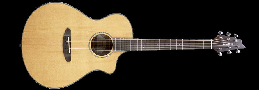 Breedlove Pursuit Concert CE Acoustic-Electric Guitar - Red Cedar-Mahogany