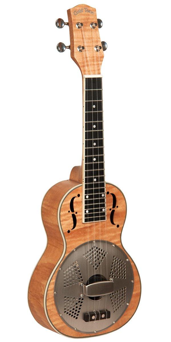 Gold Tone ResMaple Concert Resonator ukulele w/Bag
