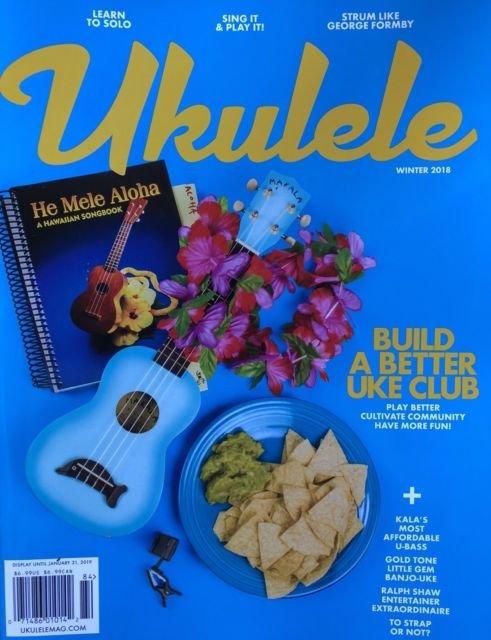 Ukulele Magazine Winter 2018