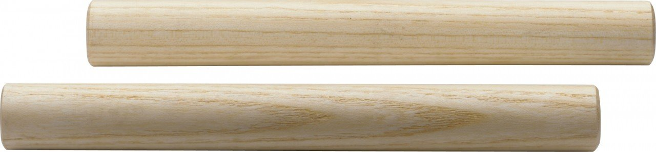 Small Round Wooden Claves - Pair