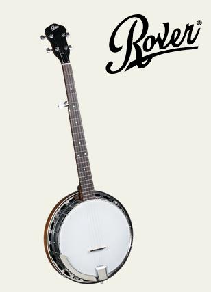 Rover RB-25 Resonator 5-String Banjo w/Bag