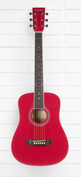 Tanara 1/2-Scale Acoustic Guitar - Dark Red