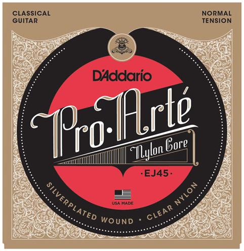 D'Addario EJ45 Pro-Arte' Classical Guitar Strings Normal Tension