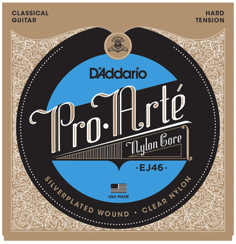 D'Addario EJ46 Pro-Arte' Classical Guitar Strings Hard Tension