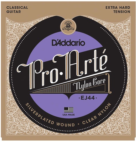 D'Addario EJ44 Pro-Arte' Classical Guitar Strings Extra-Hard Tension