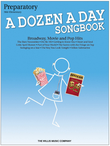 A Dozen a Day--Songbook Preparatory Book--Mid-Elementary Level