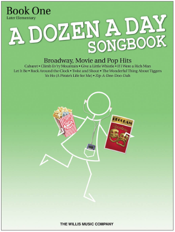 A Dozen a Day Songbook--Book 1--Later Elementary to Early Intermediate Level