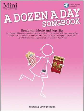 A Dozen a Day Songbook--Mini--Early Elementary Level w/Online Audio