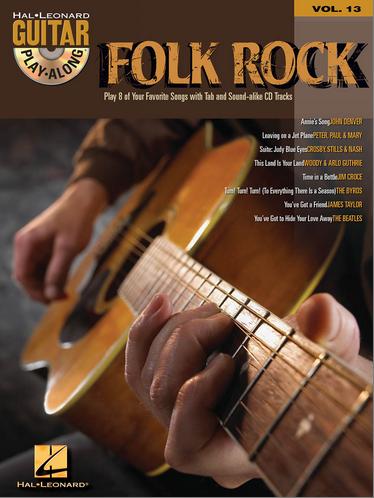 Guitar Play-Along Vol. 13 Folk Rock