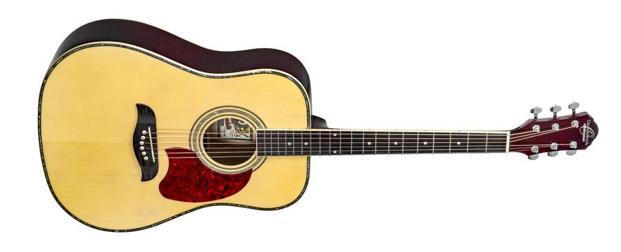 Oscar Schmidt OG2N-A-U Dreadnought Acoustic Guitar-Natural