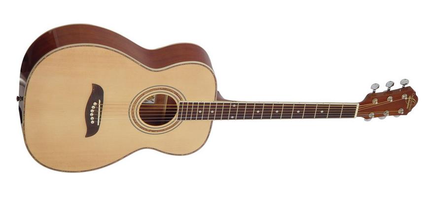 Oscar Schmidt OF2-A-U Concert Acoustic Guitar - Natural
